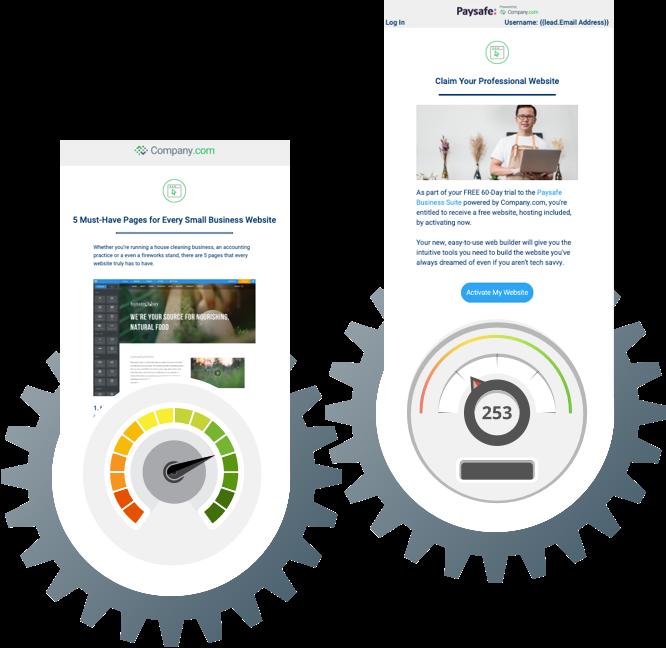 Marketing engine optimization Gears